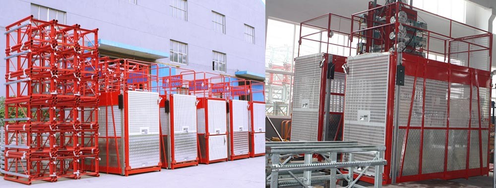 China best Cage Hoist on sales