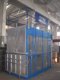 3 Ton Electric Industrial Elevators Single Cage With Aluminum