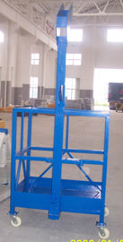 Single Person Suspended Working Platform , ZLP100 50HZ Tower Crane Hoist