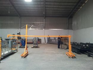 500kgs Suspended Working Platform 1m-10m Length , Construction Access Equipment