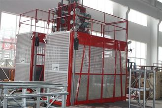 Building Construction Hoist Elevator 2000kgs Load Capacity
