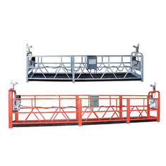 Multipurpose Suspended Working Platform , ZLP High Rise Work Platform