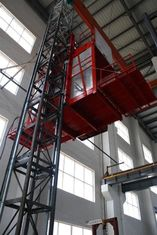 Single Cage Construction Material Hoists 2000kgs 380V 50HZ