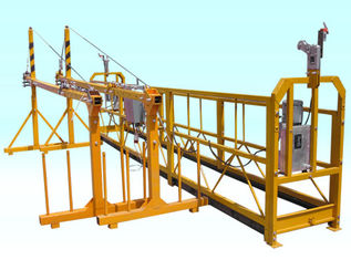 Adjustable Steel Powered Suspended Working Platform Scaffold Hoists