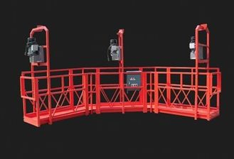 Red Arc Adjustable Suspended Working Platform Cardle for Construction
