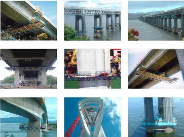 Underdeck Steel Movable Scaffolding System in Bridge Construction