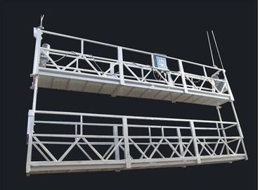 Aluminum Alloy Double Deck Suspended Working Platform and Suspended Access Equipment