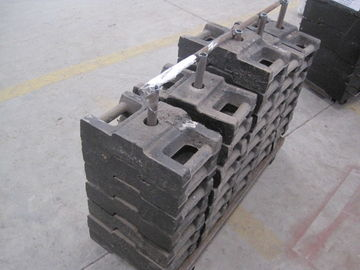 Steel - Concrete 25*36 pcs Counter Weight of Working Suspended Platform Parts