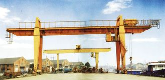 28.5m Span 200 / 32t Double Girder Gantry Electric Overhead Crane with Hook