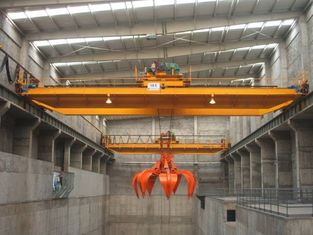 QZ Electric Overhead Cranes with Grab, 15t Rated Capacity, 31.5m Span, 39m Load - Lifting