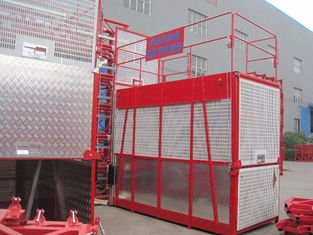 Lifting Building Hoist Elevator Transport Platforms 3200kg Load Capacity