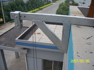Safety Lock Suspended Working Platform Hanging Device for the Chimney Wall Painting ISO