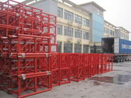 Mast Building Construction Material Lifting Hoist Parts Customized Color  Painting