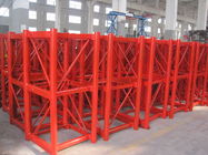 China Personalized Q345B Steel Hoist Tower Crane Parts 650 × 650 × 1508 mm company