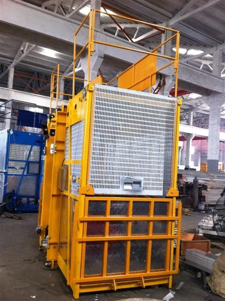 Easy Operated Construction Lift Hoist Elevator Single And