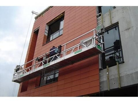 Safety Suspended Working Platform , Altrex Suspended Scaffold Hazard Awareness