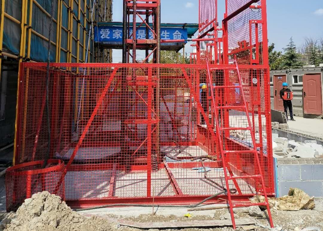 Quick Lifting Speed Temporary Passenger Elevators For Building Construction