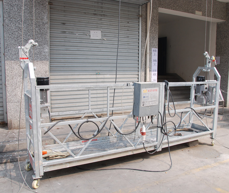 Aluminum Alloy Power Window Cleaning Equipment with Steel Rope