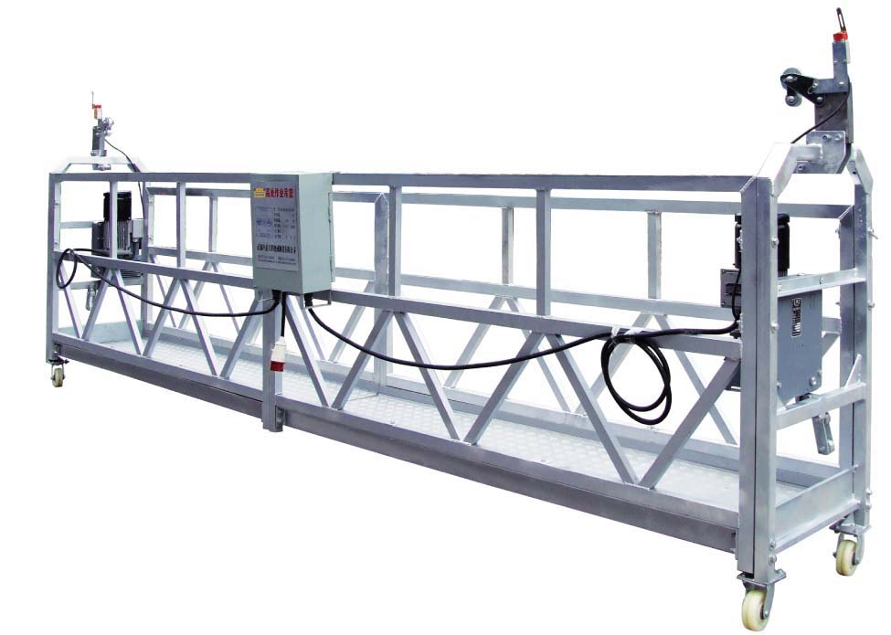Electric Suspended Platform Cradle Equipment Aluminium Alloy