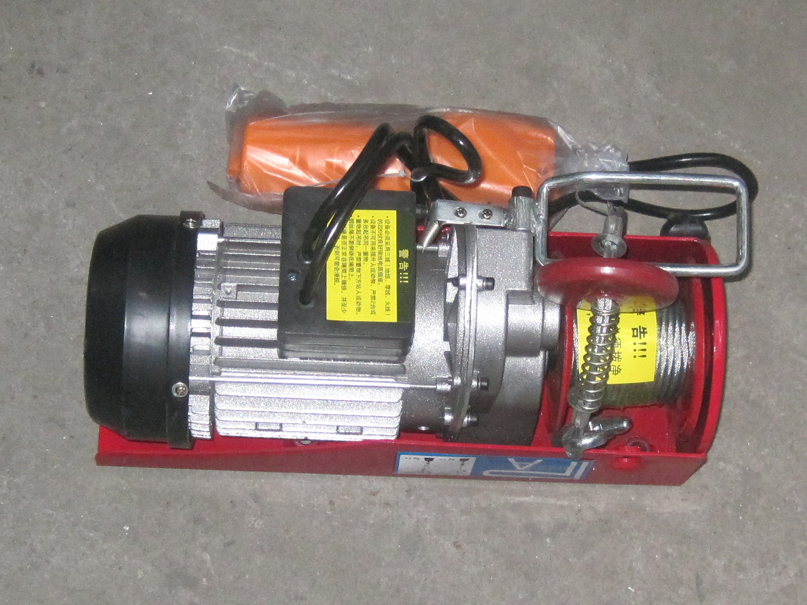 Small OEM Construction Hoist Parts Electric Lifting Cage Hoist Motor