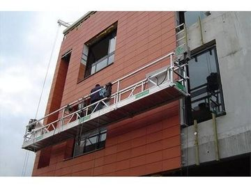 China Safety Suspended Working Platform , Altrex Suspended Scaffold Hazard Awareness factory