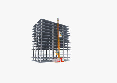 China High Safety Construction Hoist Elevator Robust Structure Large Carry Capacity factory