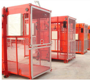 China Industrial Construction Hoist Elevator , High Stability Building Material Hoist factory