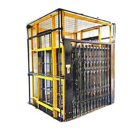 China Steel Construction Hoist Elevator , Construction Material Lifting Hoist factory