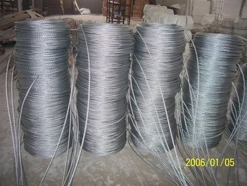 China Steel Painted Rope Suspended Platform Steel Wire Rope For 1000kgs Hoist factory