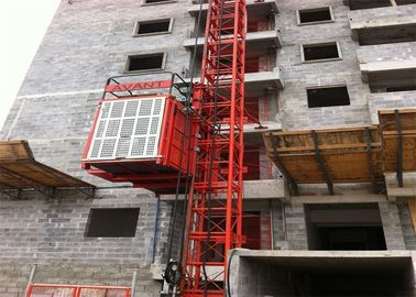 China Safety Transport Platforms / Material Lift For Construction Customized factory
