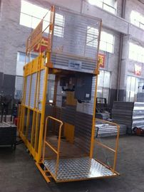 China Operator Cab Construction Material Man And Material Hoist Dual Cage ISO factory