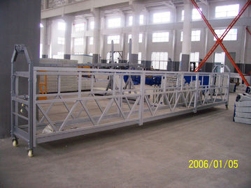 China 7.5M Aerial Suspended Working Platform ZLP800 for Building Maintenance with Steel Rope factory