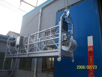 China Rope Hanging Suspended Access Platform , Suspended Scaffolding factory