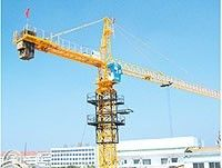 China Tower Crane 6516 Stationary Attached Tower Crane Static on fixing Angle factory