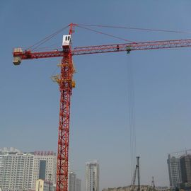 China TC6012 8 Tons Potain Tower Crane QTZ680(5613) with 151.2m Max Height , 48m Free Stranding factory